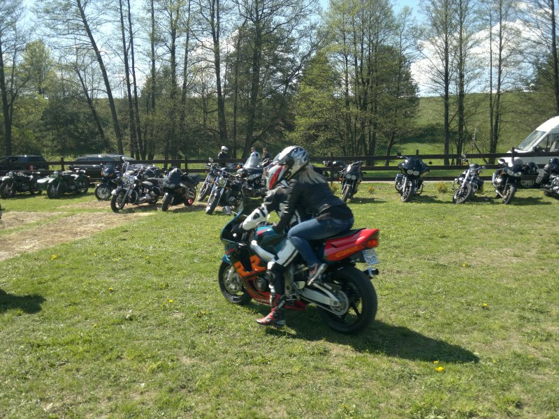 Rozpoczęcie sezonu motocyklowego 2016 wBakałarzewie