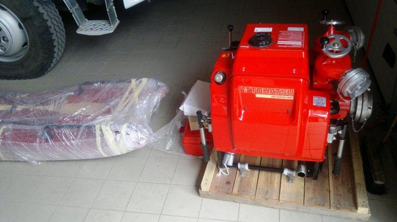 Nowoczesna motopompa isanie zwyposażeniem dla strażaków za 37502,70 zł