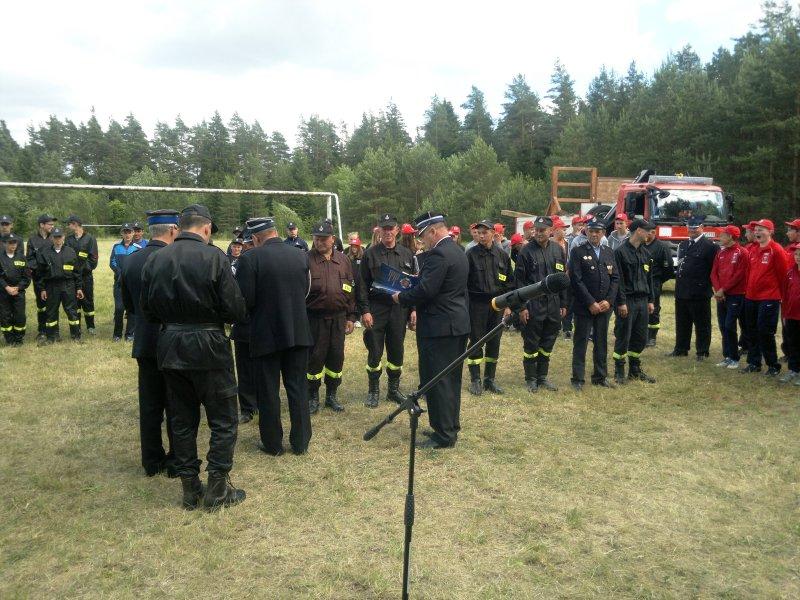Dobre wyniki OSP Bakałarzewo iOSP Stary Skazdub na powiatowych zawodach strażackich